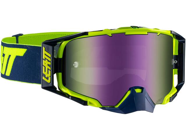 Leatt Velocity 6.5 Anti Fog Mirror Goggles ink/lime